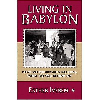 Vivendo na Babilônia: poemas e Performances