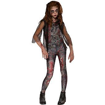 Zombie Girl Kids Costume