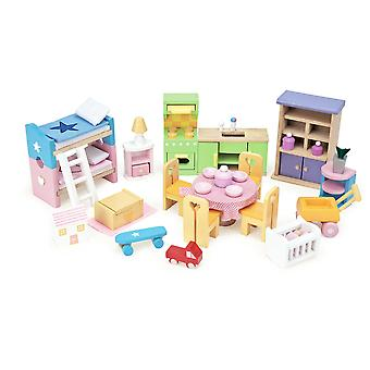 Le Toy Van Doll House Starter Furniture Set
