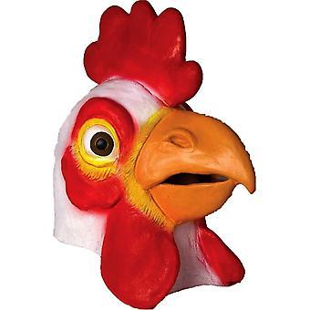 قناع مطاط الدجاج للكبار