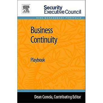 Business Continuity Playbook by Hayes & Bob