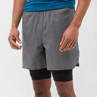 Nuevo adidas Men's Agravic Running Fitness Workout Shorts Grey