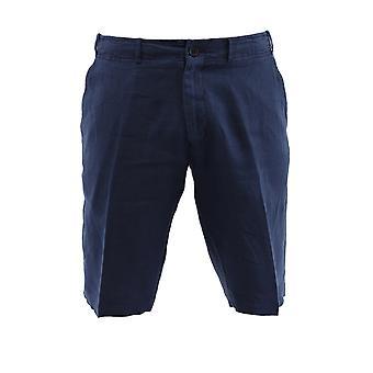Corneliani 834ex69120223001 Men's Blue Linen Pants
