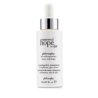 Philosophy Renewed Hope In A Jar Renewing Dew Concentrate - For Hydrating Glow & Lines - 30ml/1oz