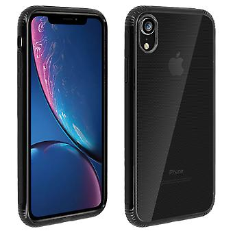 Apple iPhone XR Case Dual material protection, Licorice Collection Black