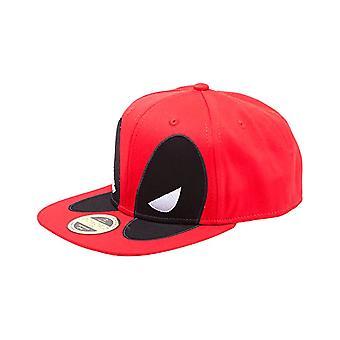 Deadpool Mask Snapback Cap
