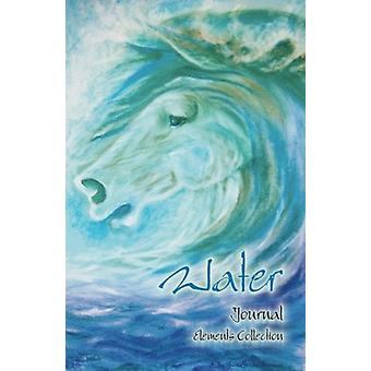 Water (Elements Collection) Horse Art Collection Notebook/Journal - D