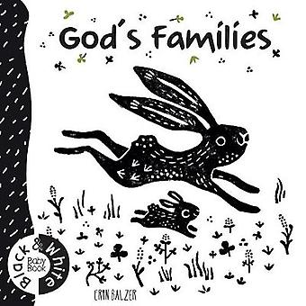 God's Families - Black and White Baby Book by Erin Balzer - 9781860242