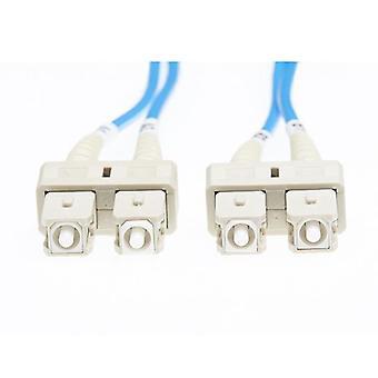 2M SC SC Om1 câble fibre optique multimode bleu