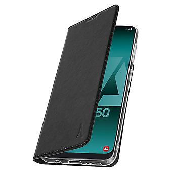 Akashi Galaxy A50 sag Card holder silikone stativ sort