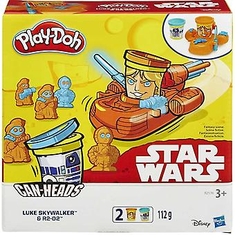 Play-Doh Star Wars Puszki 2 Pack - Luke Skywalker & R2D2