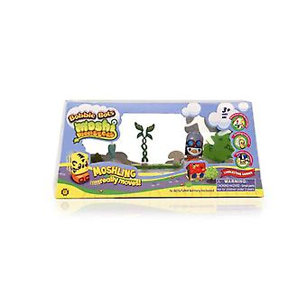 Moshi Monsters Bobble Bots - Cobblestone Garden - Peppy Grey/black/orange