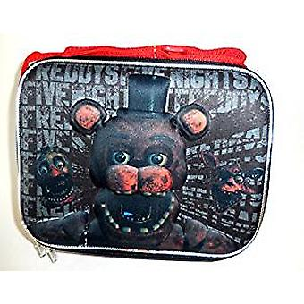 Lunch Bag - Five Nights at Freddy's Black 3D Pop-up 169170