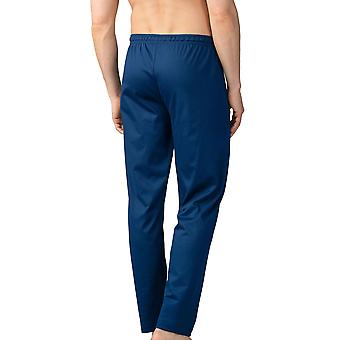 Mey Men 20760-664 Men's Lounge Neptune Blue Cotton Pajama Pyjama Pant