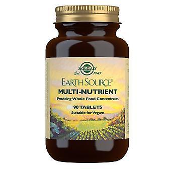 Solgar Earth Source Multi-Nutrient Tablets 90 (1029)
