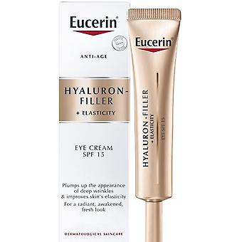 Eucerin-Hyaluron-Filler + rugalmasság szem krém SPF15 15ml
