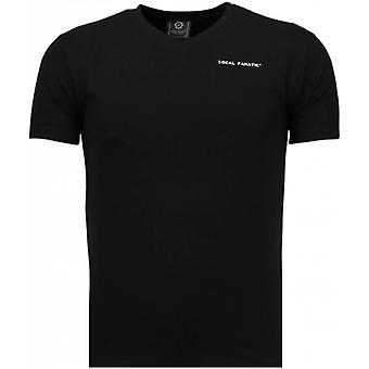Basic V Neck - T-Shirt - Noir