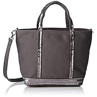 Vanessa Bruno Baby Cabas - Grey Women's Tote Bags (Anthracite) 9.5x17x26 cm (W x H L)