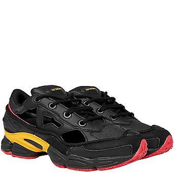 Adidas X Raf Simons Adidas X RAF Simons Replicant Ozweego Trainers Black And Yellow