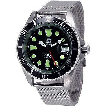 Tauchmeister T0288mil Automatic dive watch 200 M