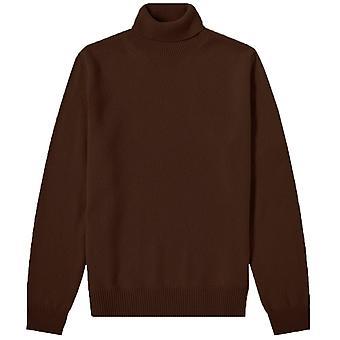 Maison Margiela schildpad hals patch Pullover trui