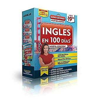 Inglas En 100 Daas - Audio Pack (Paperback Book 3 Audio CDs) / English in 100 Days ? Audio Pack