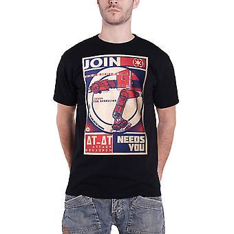 حرب النجوم تي قميص الملصقات الإمبراطورية Constructivist يحتاج لك جديد الرسمية الرجال الأسود