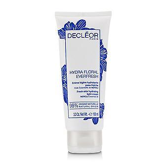 Decleor Hydra Floral Everfresh frische Haut hydrating Light Cream - für dehydrierte Haut (limited Edition) - 100ml / 3,3 Unzen