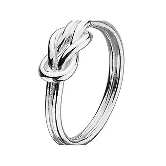 Kit Heath Heritage Heritage Sterling Silver Open Reef Knot Ring 22004HP