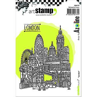 """Carabelle Studio """"London"""" Cling stämpel, vit/Transparent, A6"""