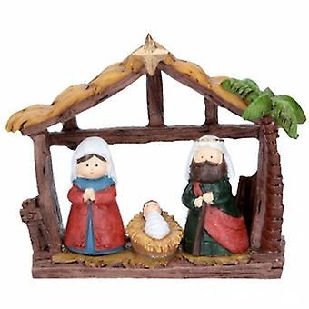 Gisela Graham Resin Children Nativity House