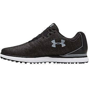 Under Armour UA Mens Showdown SL Sunbrella Wide E Golf Sports Shoes - Black