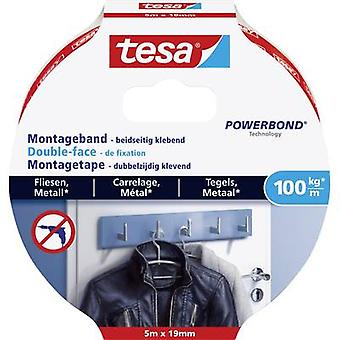 tesa 77747-00000-00 الشريط الصناعي tesa® POWERBOND الأبيض (L x W) 5000 ملم × 19 ملم 5 م