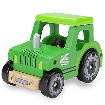 Wooden Wheels Tractor