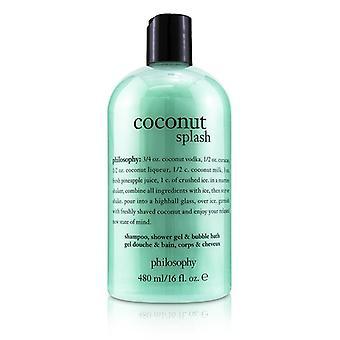 Kookos Splash shampoo suihku geeli & amp; Kupla kylpy-480ml/16oz