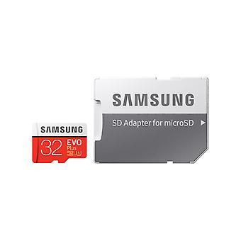サムスンマイクロSDHC EVOプラス32GBクラス10 W / SDアダプタ