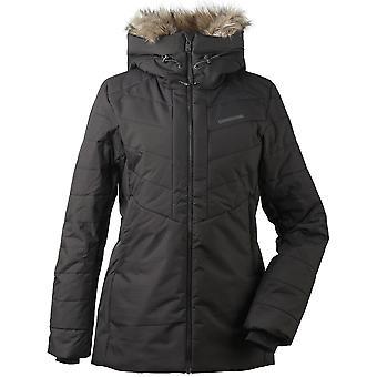 Didriksons Nana Womens Padded Insulated Jacket | Black