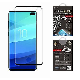 Film For Galaxy S10 Plus Tempered Glass Screen Protection With Applicator - Muvit