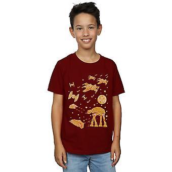 Star Wars Boys Gingerbread Battle T-Shirt