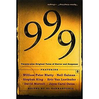 999  - Twenty-Nine Original Tales of Horror and Suspense Book