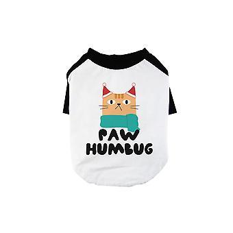 Paw Humbug Cute BKWT Pets Baseball Shirt X-mas Present