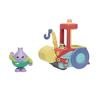Playskool Moon and Me Mr. Onion's Bumper Roller Toy Vehicle and Figure Set