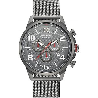 Hanowa militar Suiza 06-3328.30.009 AIRMAN CHRONO watch de men