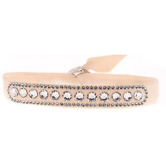 Les Interchangeables A40128 armbånd - Høj kvalitet krystaller Pink armbånd