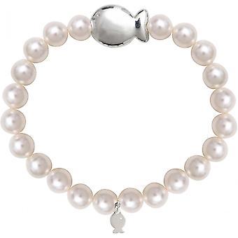 Clio blauwe 12AT2261W - armband workshop Swarovski wit zilver vrouw armband