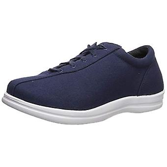 Apex Women's Ellen Canvas Sneaker, Navy, 6 M US