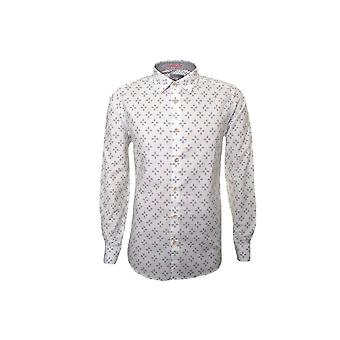 Ted Baker Men's Laaze White Long Sleeved Shirt