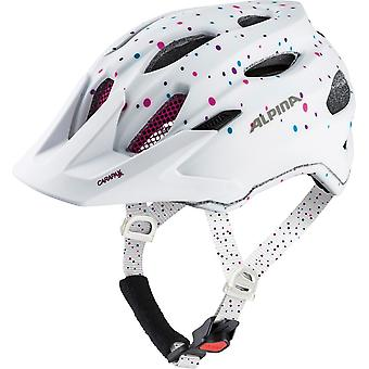 Alpina carapace JR Kids helmet / / polka white dots