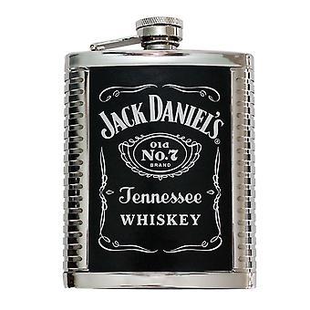 Fiole de 6 OZ à nervures de Jack Daniels
