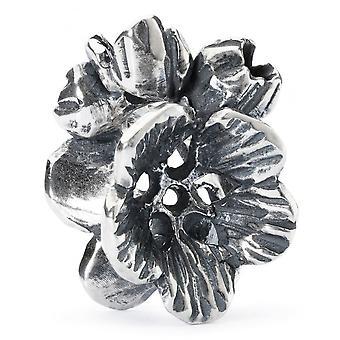 Trollbeads Indian Cress Silver Bead Tagbe-30130